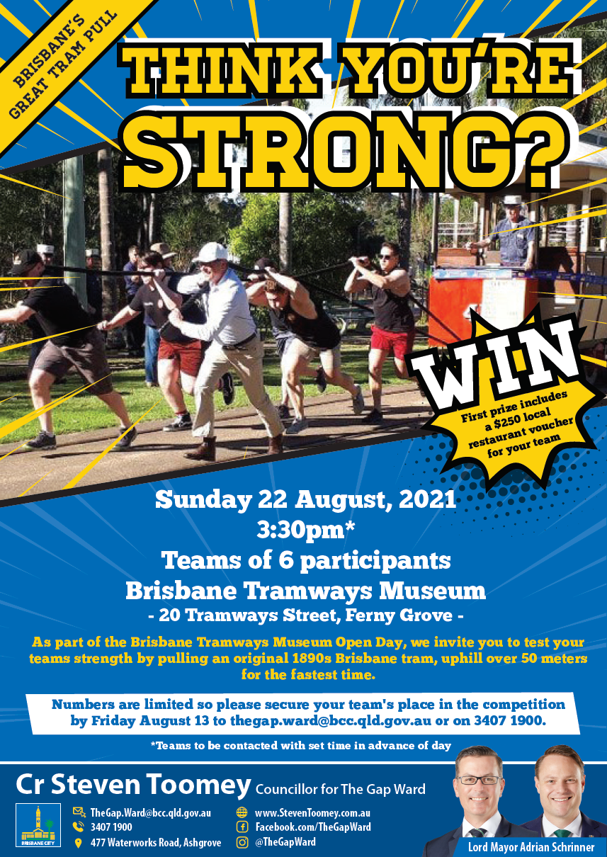 Brisbane Great Tram Pull